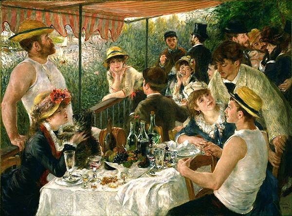 1880-81 船上的午宴﹝Luncheon of the Boating Party﹞