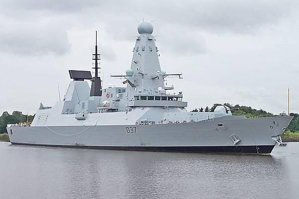 鄧肯號為最新的一艘45型飛彈驅逐艦
