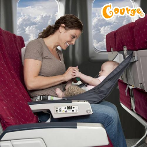結合餐椅功能的飛機嬰兒吊床