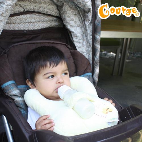 Bababib奶瓶枕圍兜 (1)
