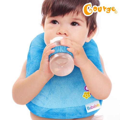 Bababib奶瓶枕圍兜 (5)