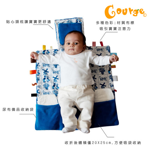Snoozebaby 寶貝外出尿布更換墊 (3)