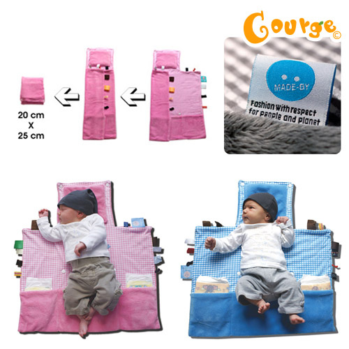 Snoozebaby 寶貝外出尿布更換墊 (5)