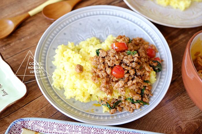 [食譜] 紅咖哩泰式打拋豬肉飯-下飯程度僅次於台灣滷肉飯