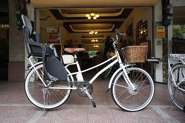 動能自行車(側面)