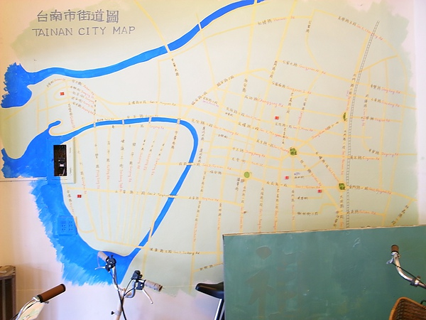 標示出道路和運河