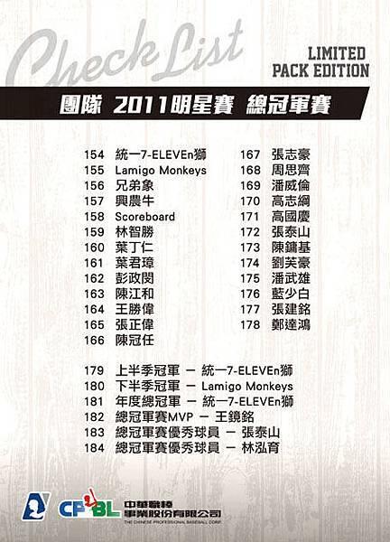 Checklist-零售包-團隊2011明賽-B
