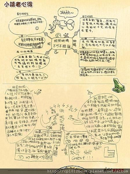 青林童書繪本-蛇和蜥蜴-小學生閱讀心智圖01