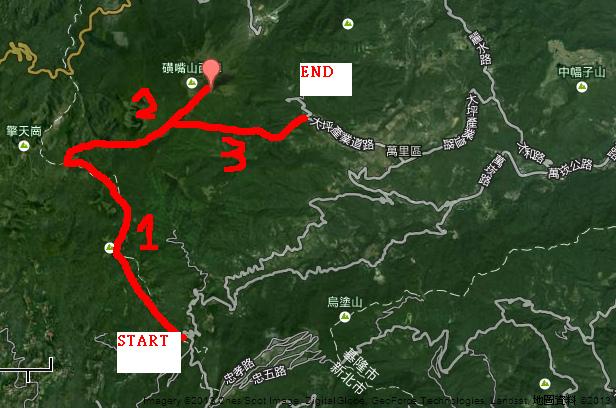 磺嘴山-trail