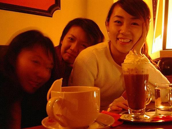 這杯熱巧克力讚