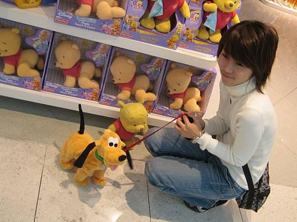 香港機場的迪士尼專賣店