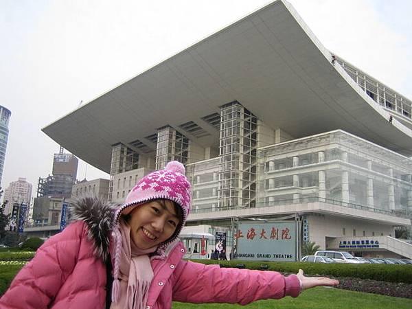這市政府和上海的都市計劃館吧