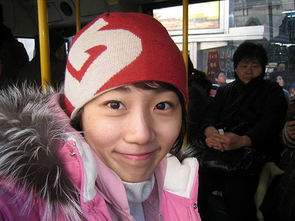 坐公車做地鐵超強的啦!!!呵