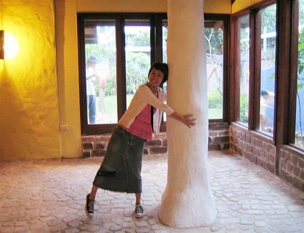 白白大柱子好可愛