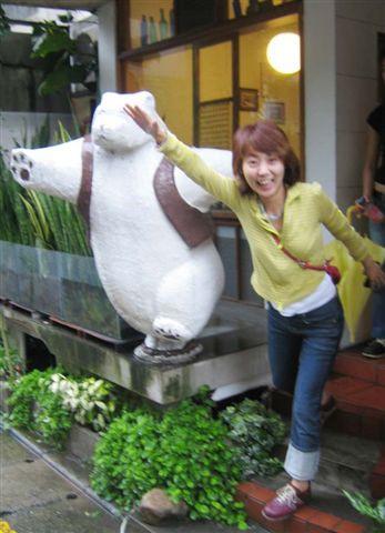 COFFEE ODEN嗎...的大白熊SAY HIGH