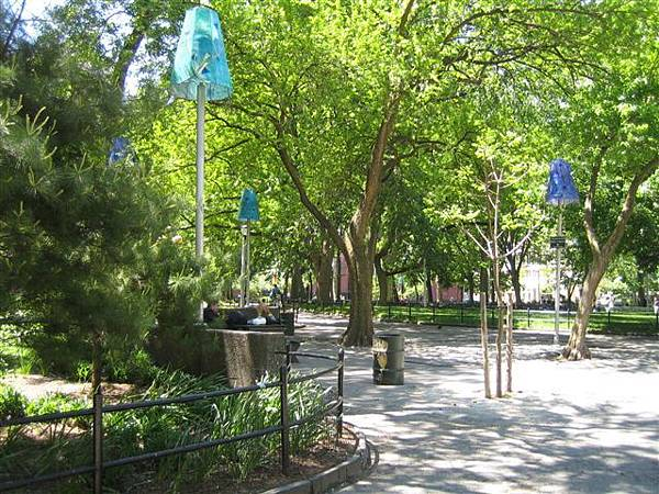 NYU那邊的華盛頓公園