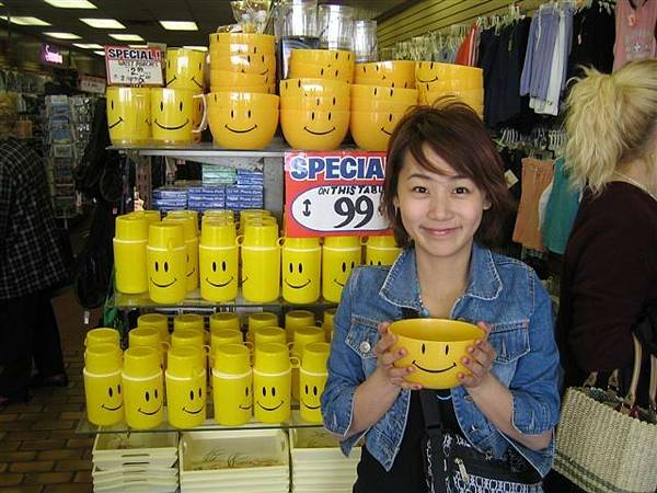 挖...SMILE好多...阿反正什麼東西便宜的幾乎都是....