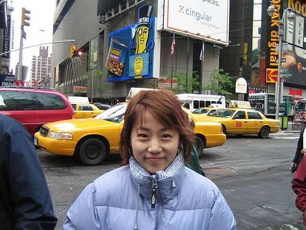 超冷紐約街頭