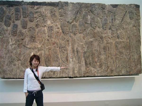 壁畫很驚人的巨大...