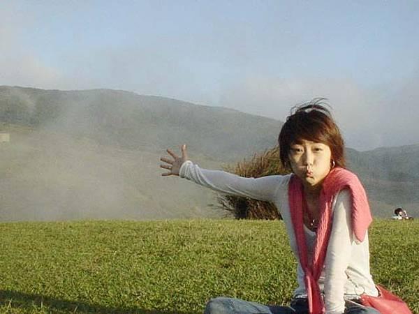 太陽正大著 馬上就起霧~~~呼~~~