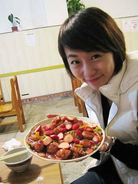 草莓排骨!!!!!好~~~吃!!!