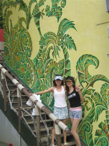 超可愛彩繪牆