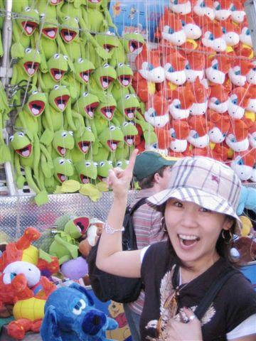 阿哈哈哈哈~~~又是這支~~超想要的青蛙啦!!!