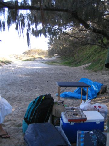 到嚕~~~這就是我門的露營地