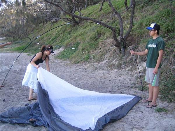 現在帳篷真的很厲害ㄟ