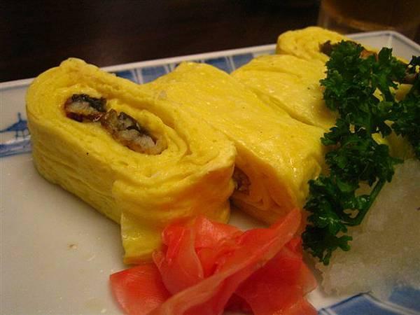 全世界最好吃的鰻料理~蛋捲考鰻魚