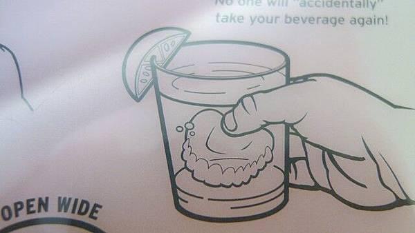 超北漆的丟在杯子裡好好笑唷~~~