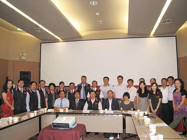 與台北市地政士公會共同接待上海海峽兩岸法學研究中心參訪團