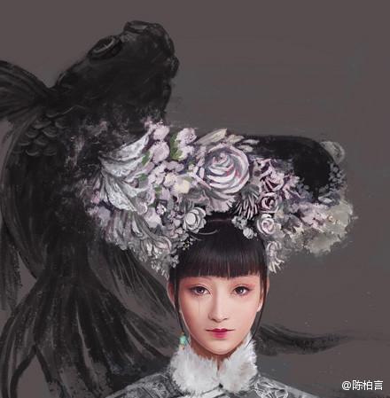 棄 - 甄嬛 x 安陵容 From:陳柏言的【甄畫集】