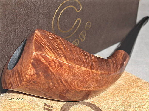 IL Ceppo Huge Freehand Oliphant/Horn pipe 02