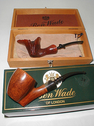 20100517 Estate Ben Wade Danish Freehand Reflection Pipe by Preben Holm 01