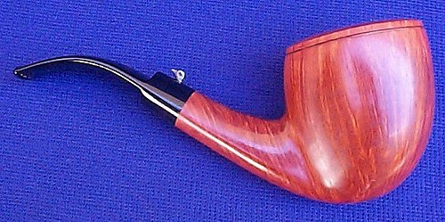 20100331 L'Anatra Unsmoked Dalle Uova D'oro Gigante 000 Pipe 04