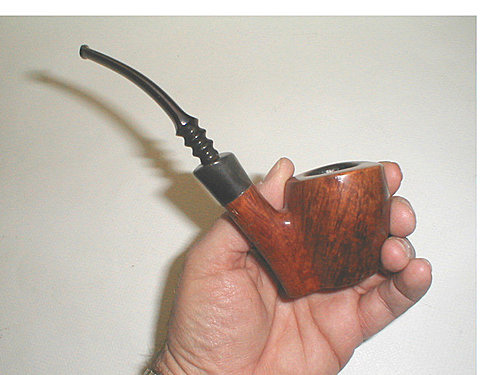 20100517 Estate Ben Wade Danish Freehand Reflection Pipe by Preben Holm 04