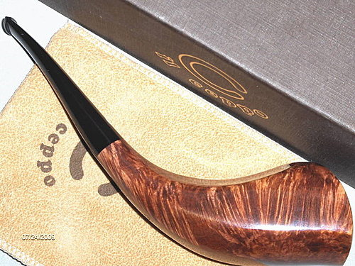 IL Ceppo Huge Freehand Oliphant/Horn pipe 06.jpg