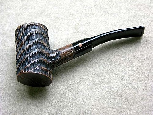 20100803 Moretti Fantastic Poker Rusticated pipe 01