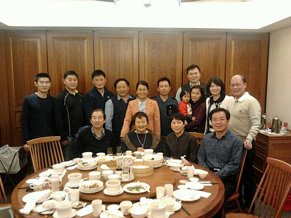 20140111 Reunion lunch