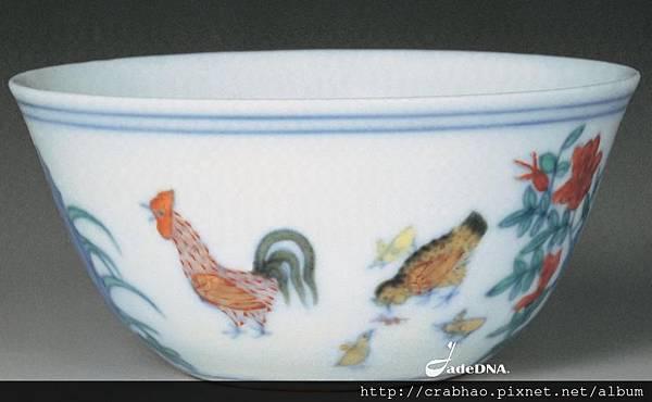 明成化鬥彩雞缸杯