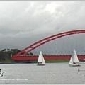 風帆與利澤簡橋