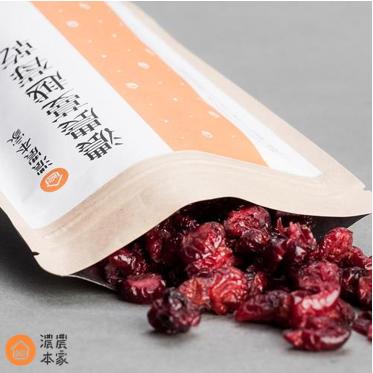 濃農本家可隨身攜帶的蔓越莓乾