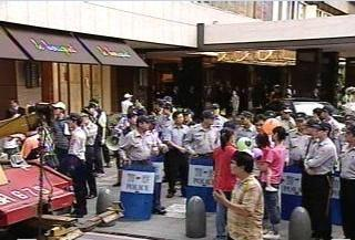 連陳國賓夜宴,下班尖峰時刻 600人維安。