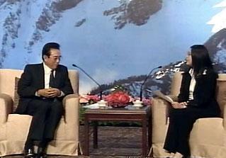 陳雲林拜會賴幸媛,兩人會面受矚目。