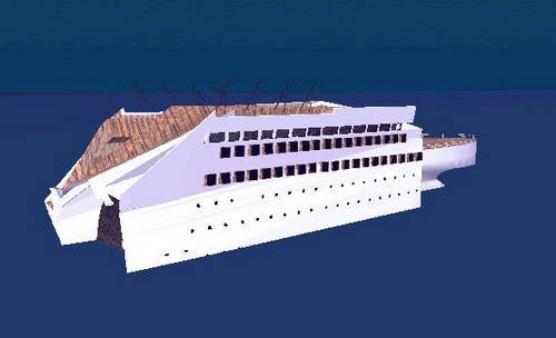 Google_Earth 5.0-欣賞鐵達尼沉船殘骸的3D立體模型.jpg