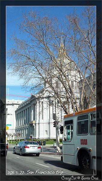 閃亮亮的舊金山市政府