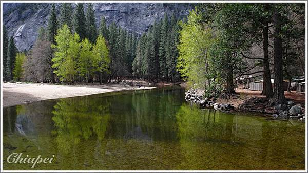 Reflections in Merced River
