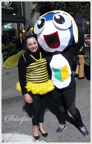 Tamama與蜜蜂小姐