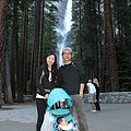 6/26 羅氏夫婦&小宇 @ Yosemite Lower Fall